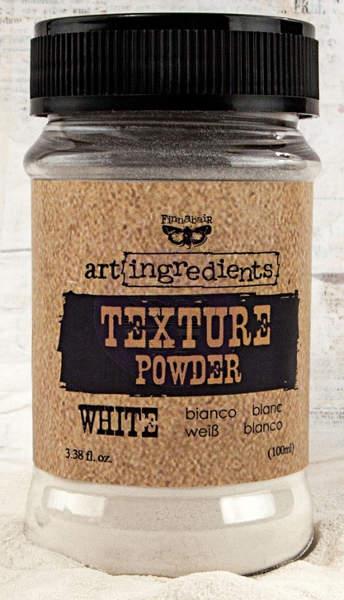 Finnabair Art Ingredients Texture Powder White