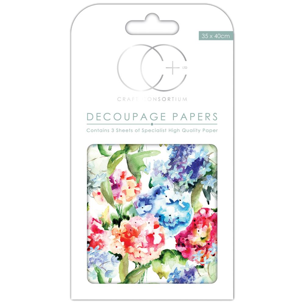 CC Decoupage Papers Watercolour Garden