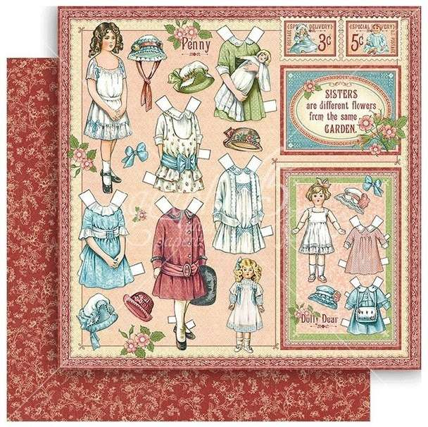 G45 Penny's Paper Doll Family Sweet Sister