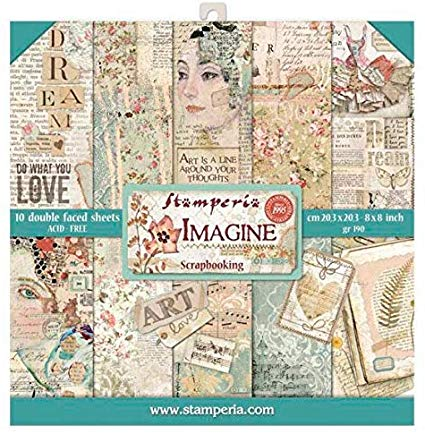 Stamperia Paperpad Imagine 12 inch
