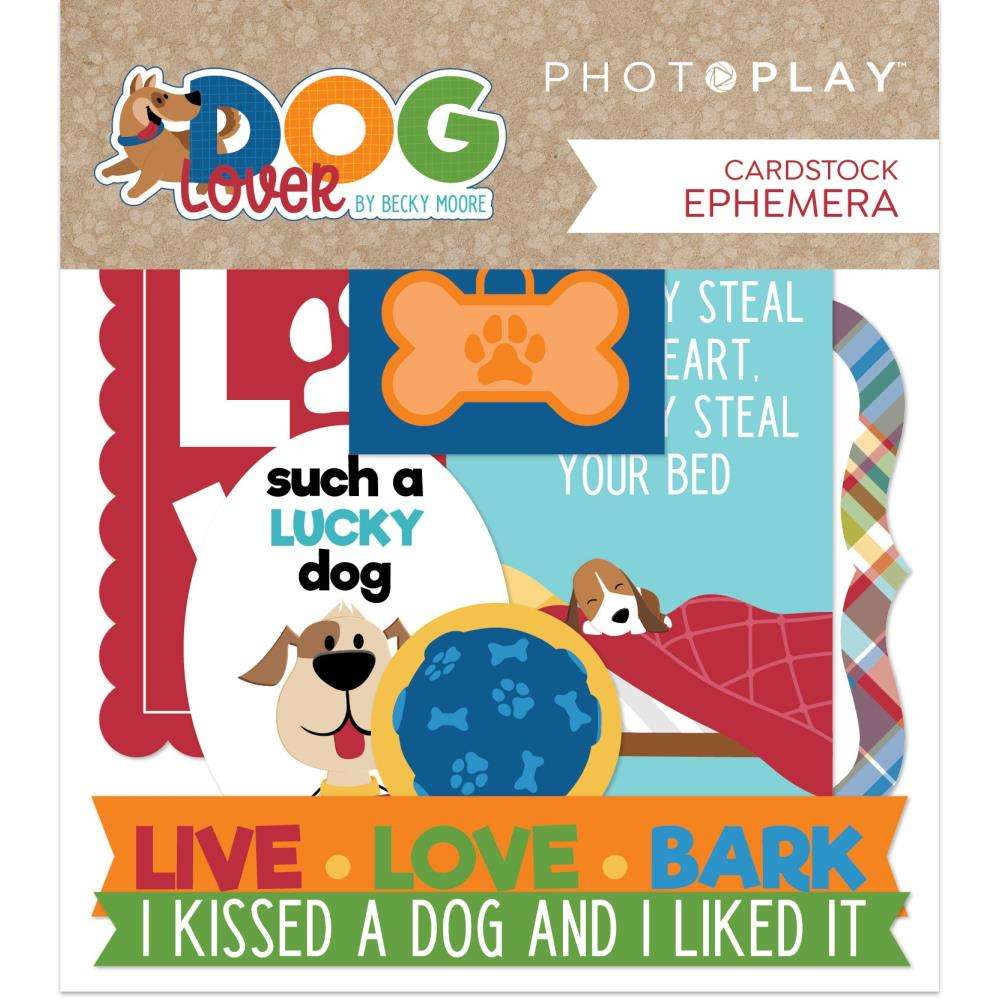 Photoplay Dog Lover Diecuts