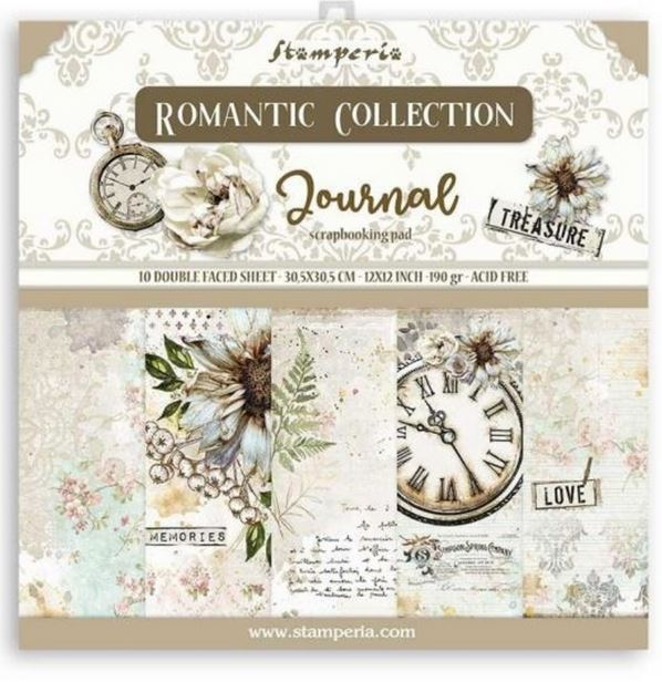Stamperia Paperpad Journal 12 inch