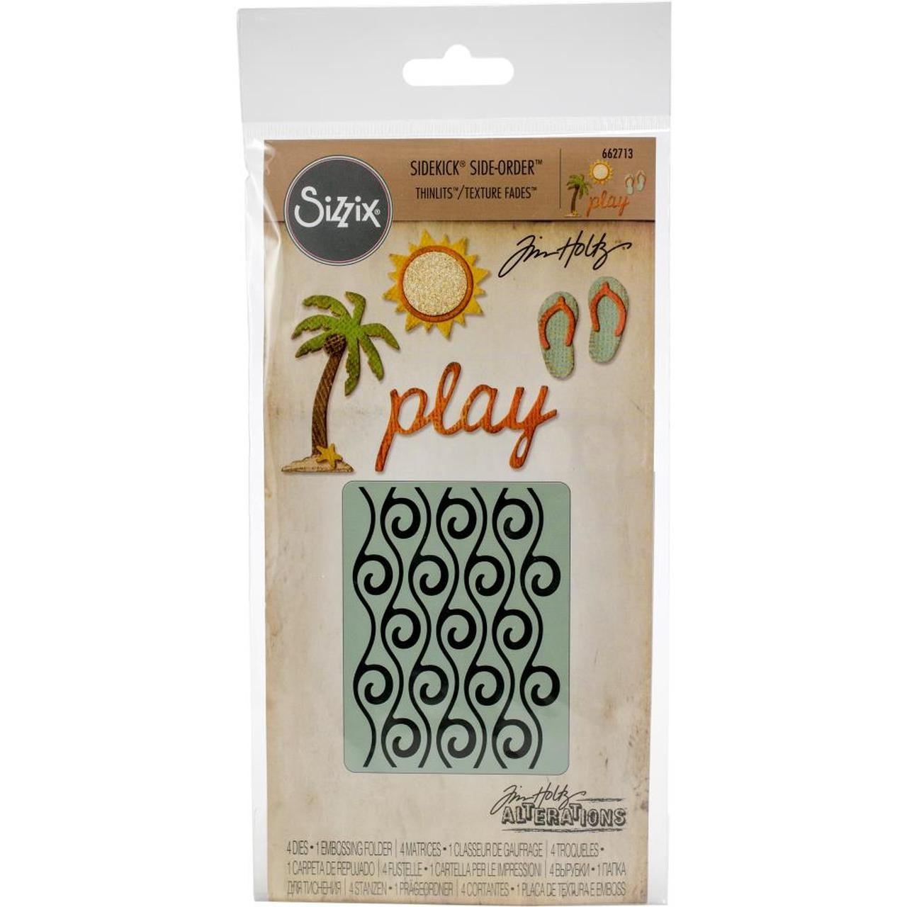 Sizzix Sidekick Side-Order Thinlits Beach