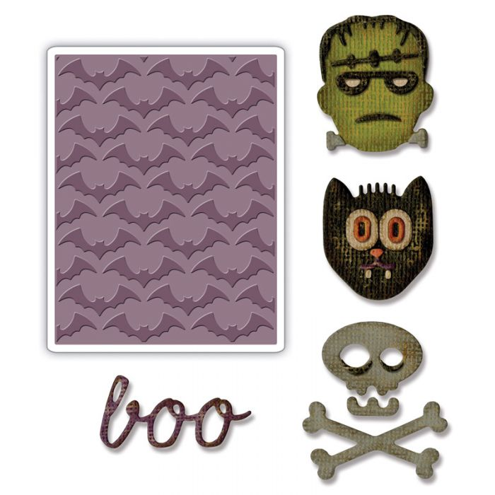 Sizzix Sidekick Side-Order Thinlits Halloween