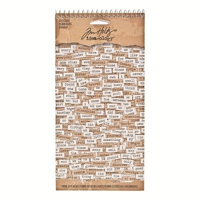Tim Holtz ChitChat Verbiages