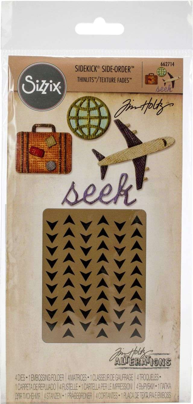 Sizzix Sidekick Side-Order Thinlits Travel