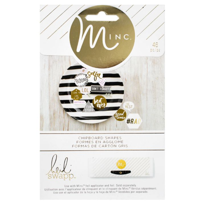 Heidi Swapp Minc Chipboard Shapes