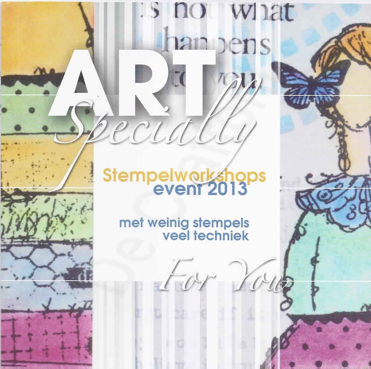 Art Specially Stempelworkshops Event 2013