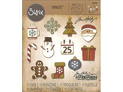Sizzix Thinlits Mini Christmas Things