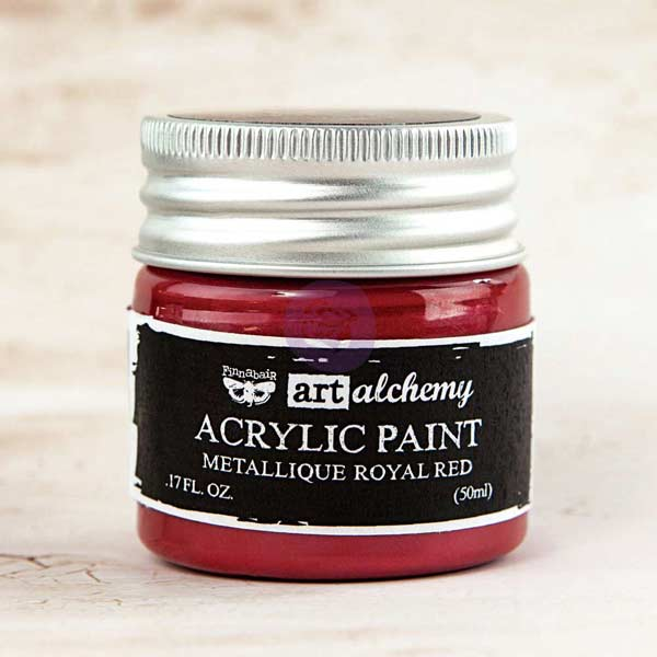 Art Alchemy Metallique Royal Red