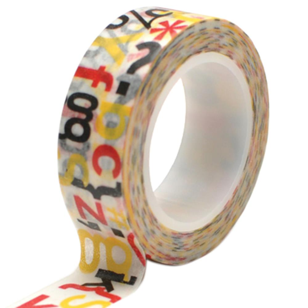 Q&C Trendy Tape Magic Letter Jumble