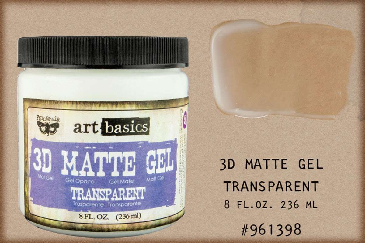 Art Basics 3D Matte Gel