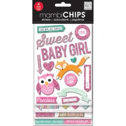 Mambi Chipboard Value Pack Sweet Girl