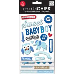 Mambi Chipboard Value Pack Sweet Boy