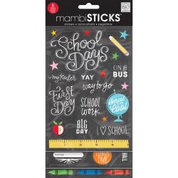 Mambi Glitter Value Stickers School Today