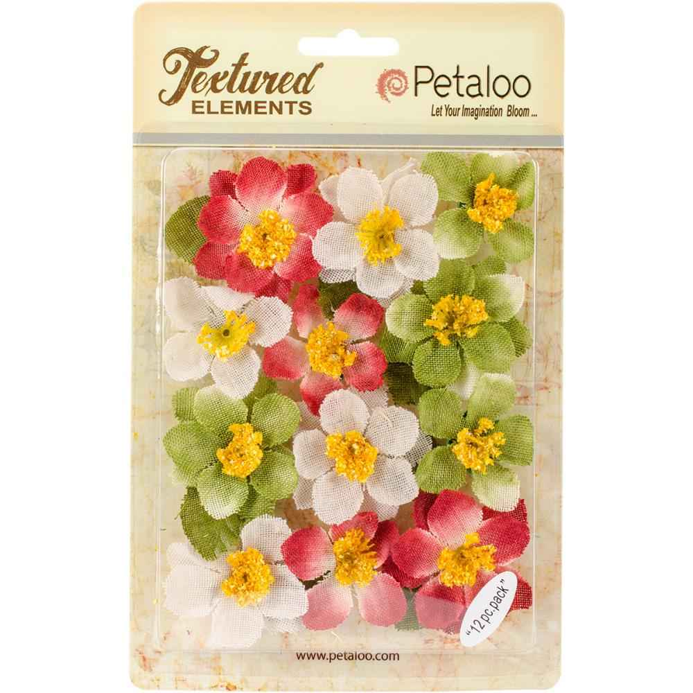 Petaloo Briar Rose Canvas Holiday Mix