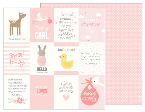 Pebbles Lullaby Baby Girl Quotes