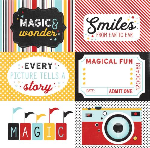 EP Magic Wonder 4x6 Journaling Cards