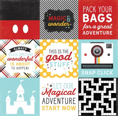 EP Magic Wonder 4x4 Journaling Cards