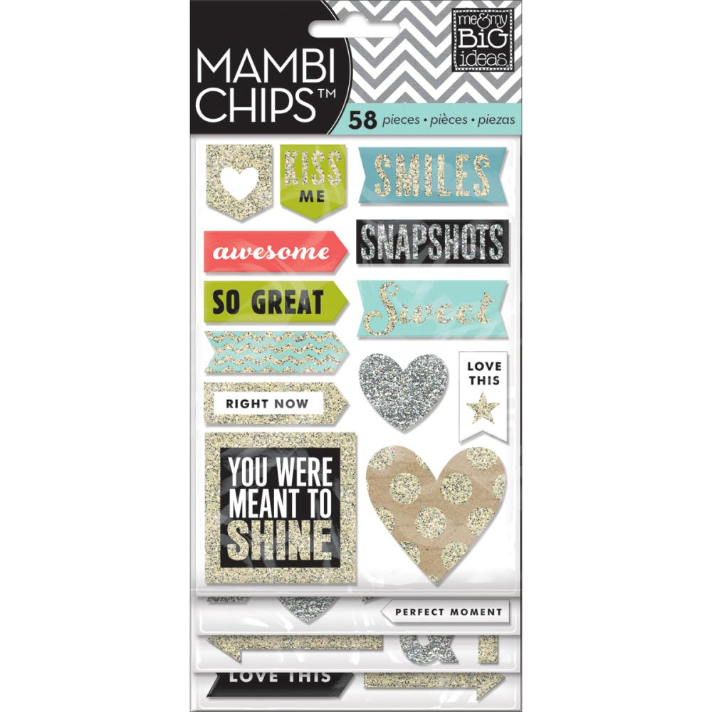 Mambi Chipboard Value Pack Love This