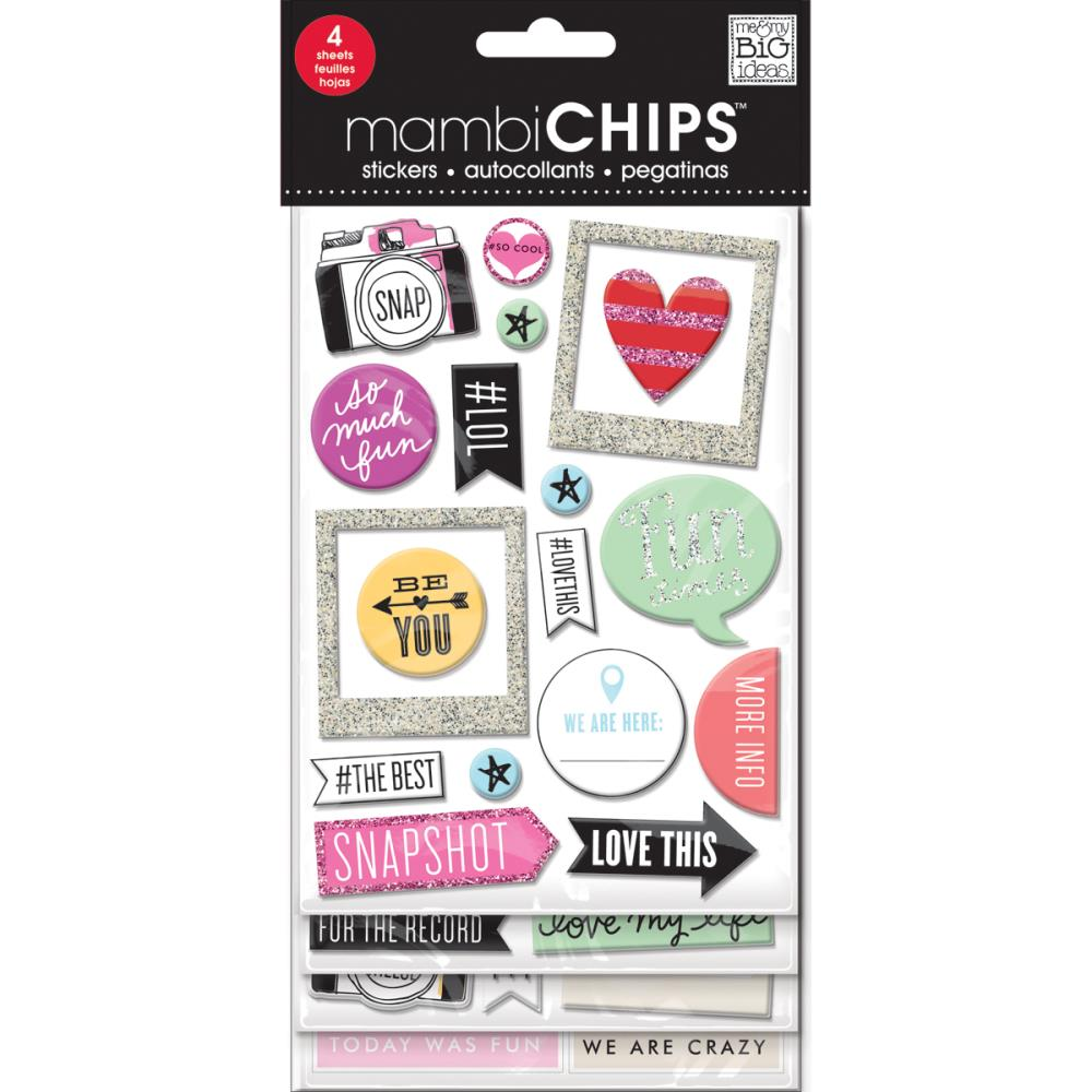 Mambi Chipboard Value Pack Insta Love