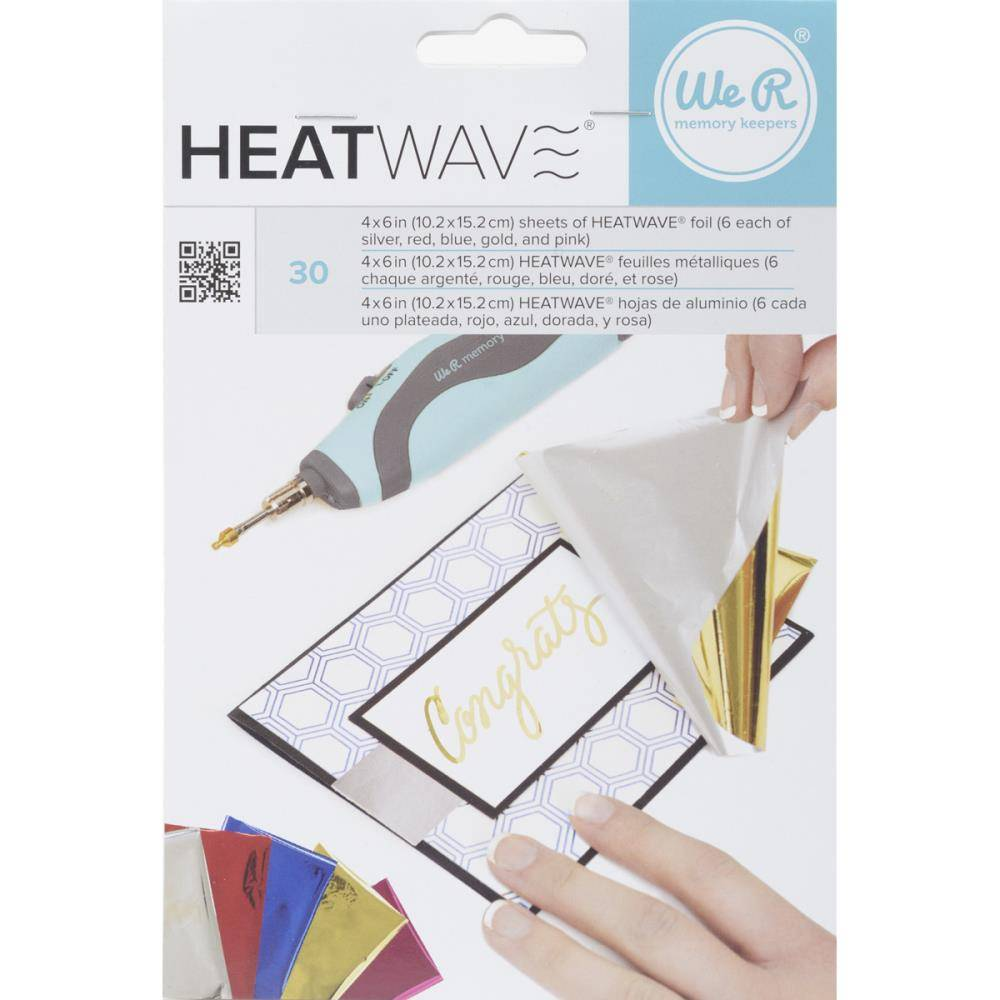 WMK Heatwave Foil Sheets Multicolor