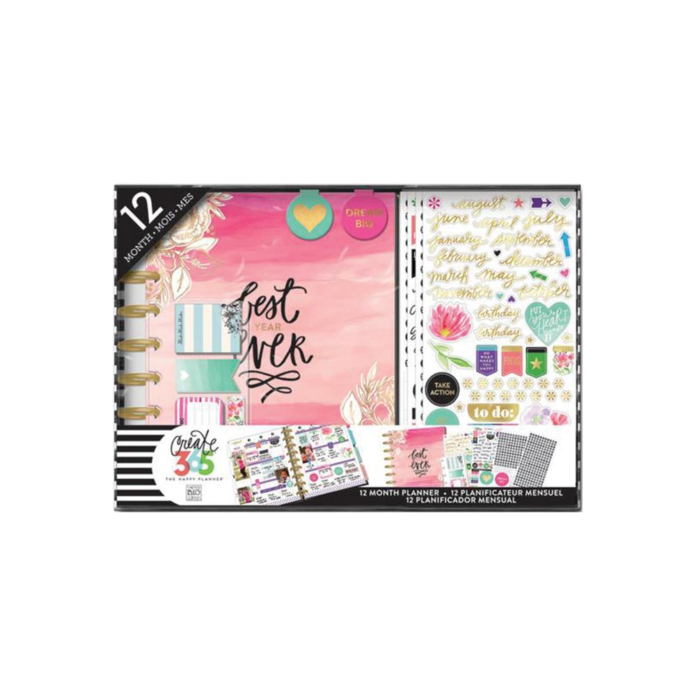 Mambi Create 365 The Happy Planner Box Kit  Best Year.