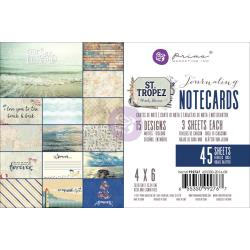 PM St Tropez Journaling Cards 4x6 inch