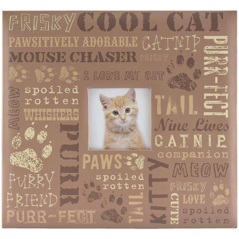 MBI Scrapbook Album Cool Cat 12 inch