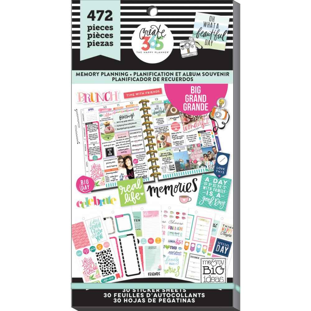 Mambi Create 365 Stickers Mini Planner Basics