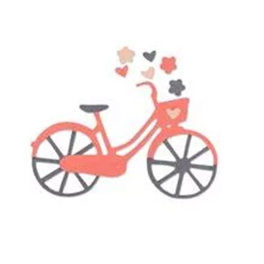Sizzix Thinlits Bicycle.
