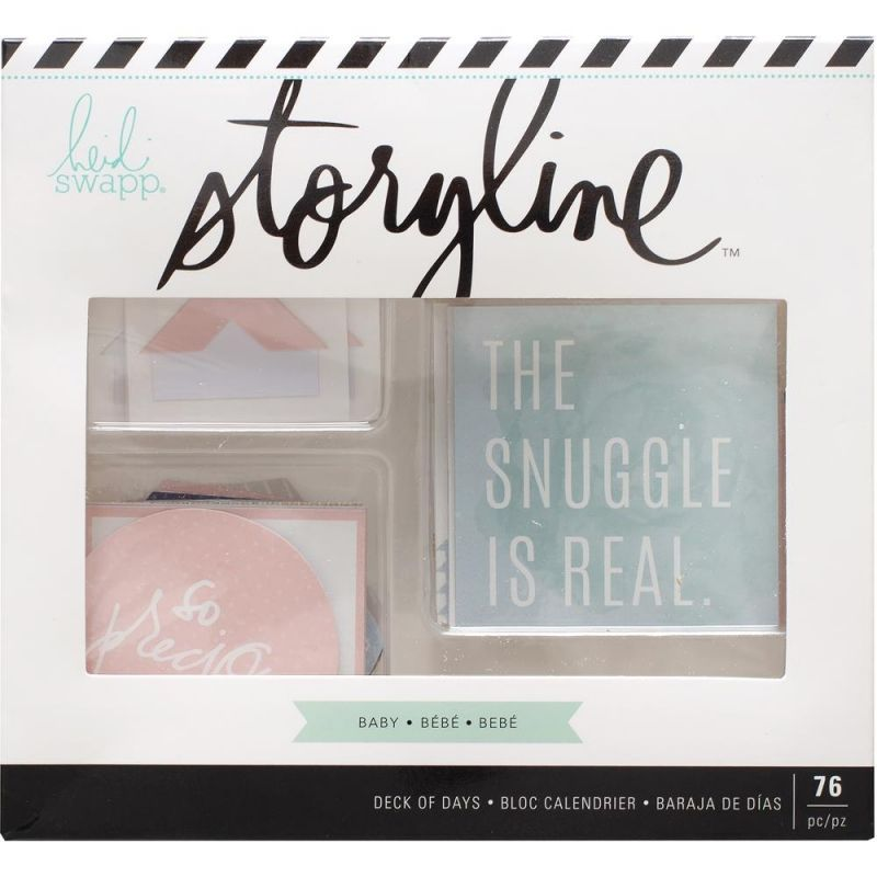Heidi Swapp Storyline 2 Deck of Days Baby