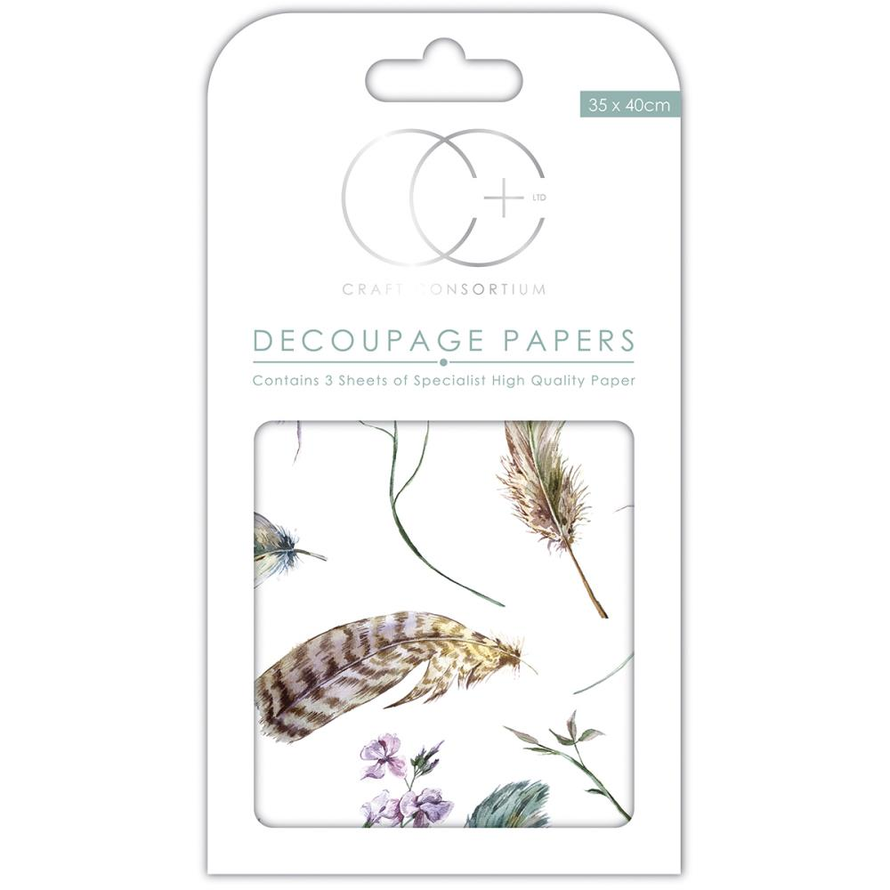 CC Decoupage Papers Take Flight