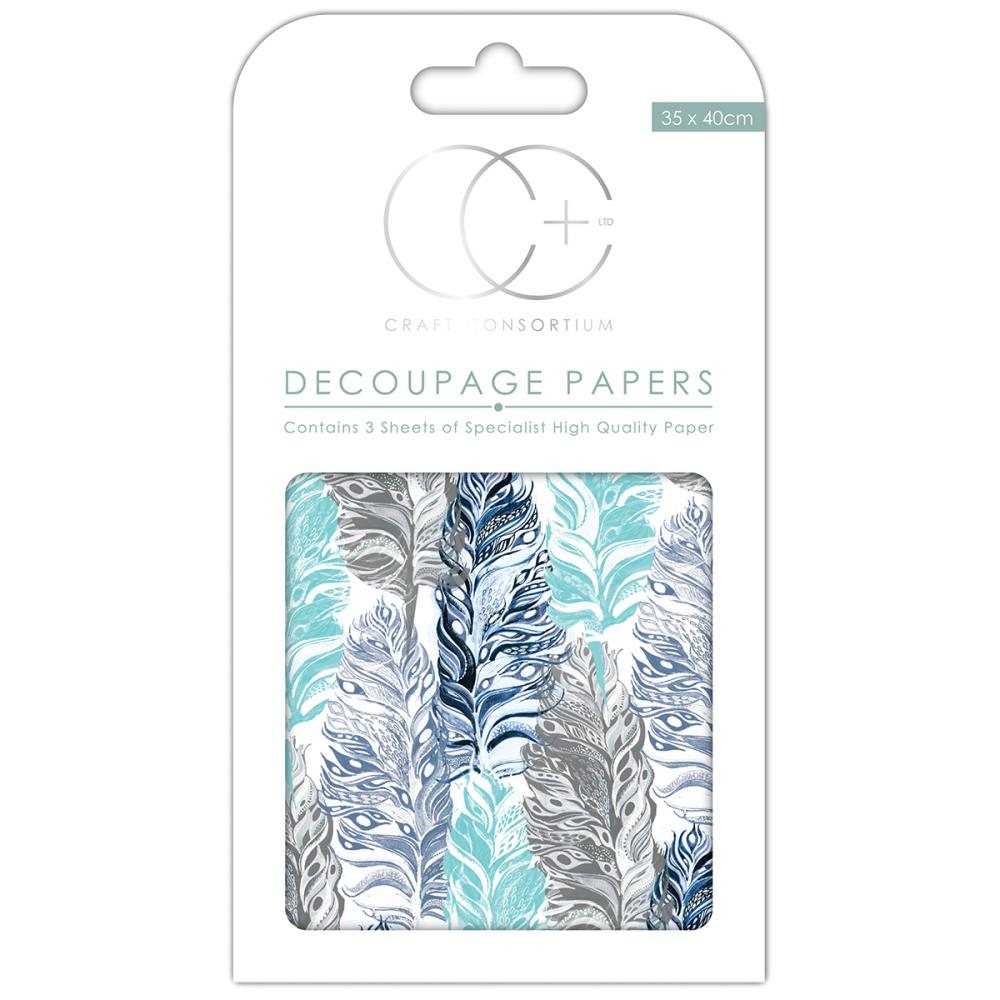 CC Decoupage Papers Raven