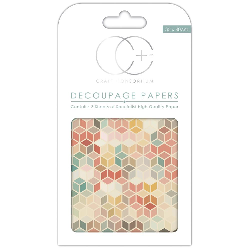 CC Decoupage Papers Retro 3