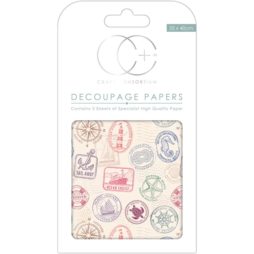 CC Decoupage Papers Port Of Call