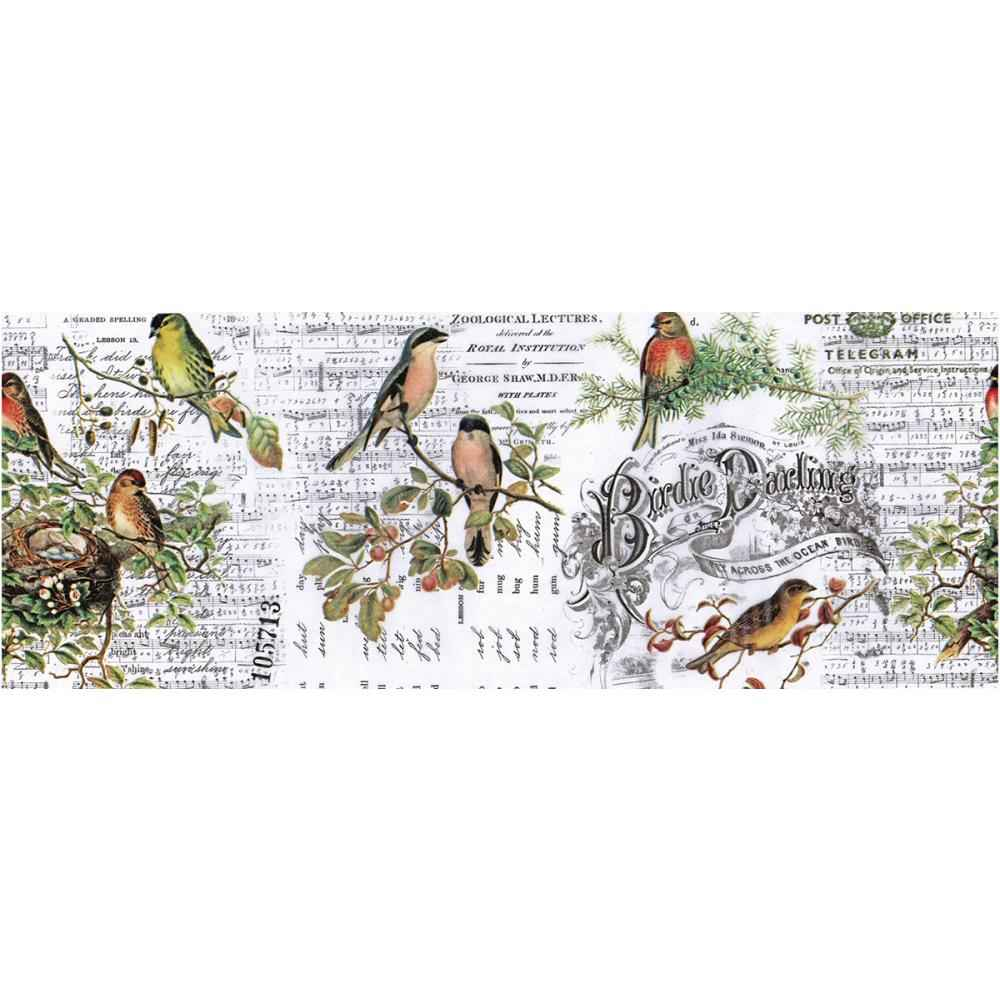 Tim Holtz Collage Paper Aviary