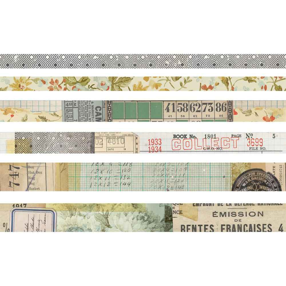 Tim Holtz Idea-Ology Collector Design Tape.