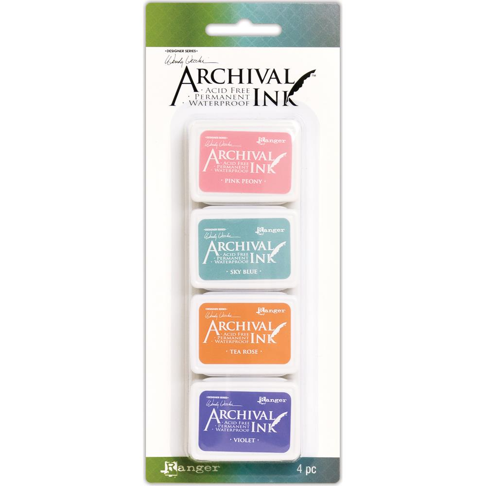Ranger Wendy Vecchi Archival Mini Ink Pad Kit #3