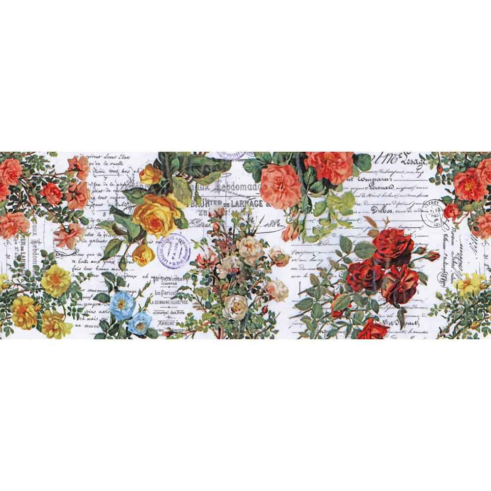 Tim Holtz Collage Paper Floral