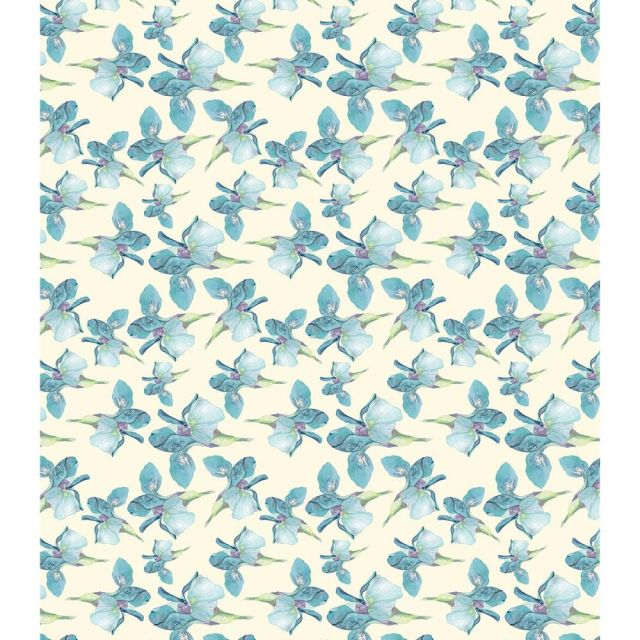 CC Decoupage Papers Blue Iris