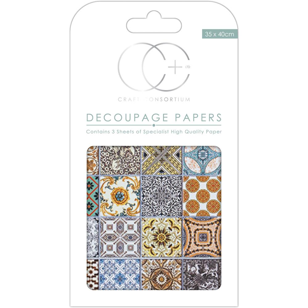 CC Decoupage Papers Marrakesh