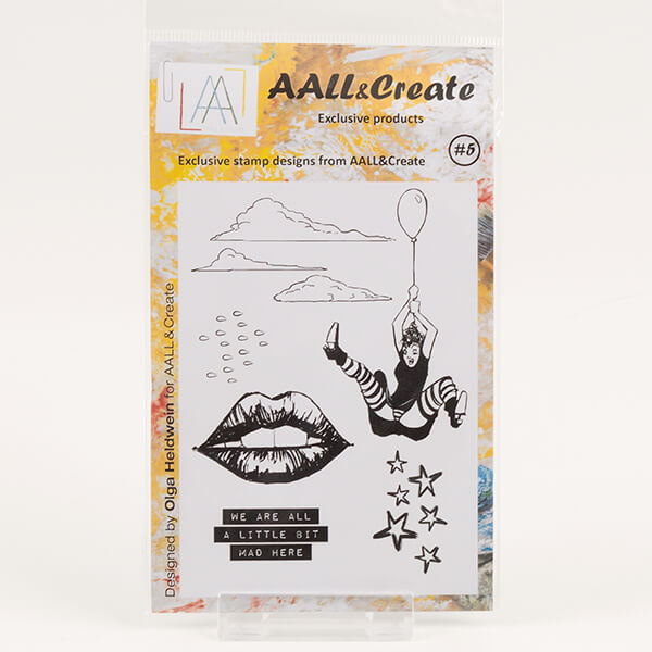 AALL & Create  A6 Stamp Set #5