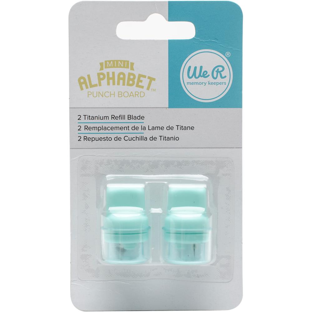 WMK Mini Alphabet Punch Board Refill Blades