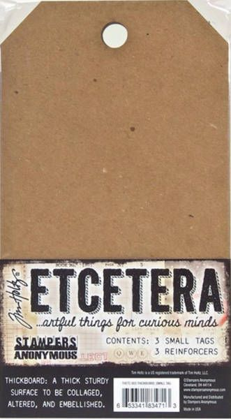 SA Tim Holtz Etcetera Tags Thickboard