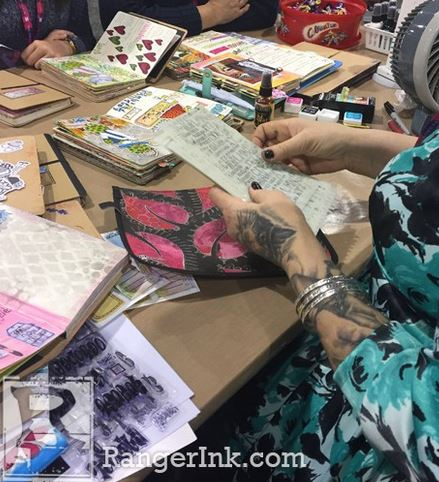 27 oktober Mixed Media Play Date Mosaic met Dylusions