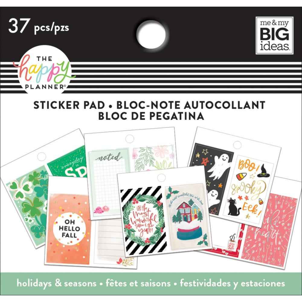 Mambi Planner Tiny Sticker Pad Holiday & Seasons