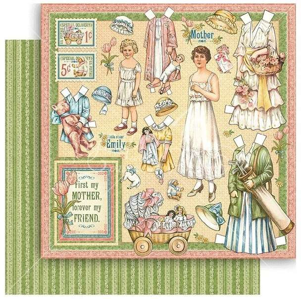 G45 Penny's Paper Doll Family Mothers and Daughters
