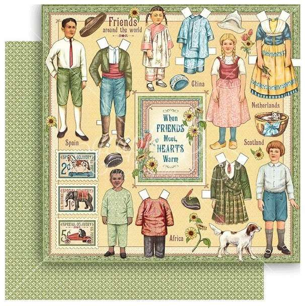 G45 Penny's Paper Doll Family Forever Friends