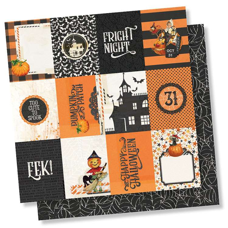 SS Simple Vintage Halloween 3x4 elements
